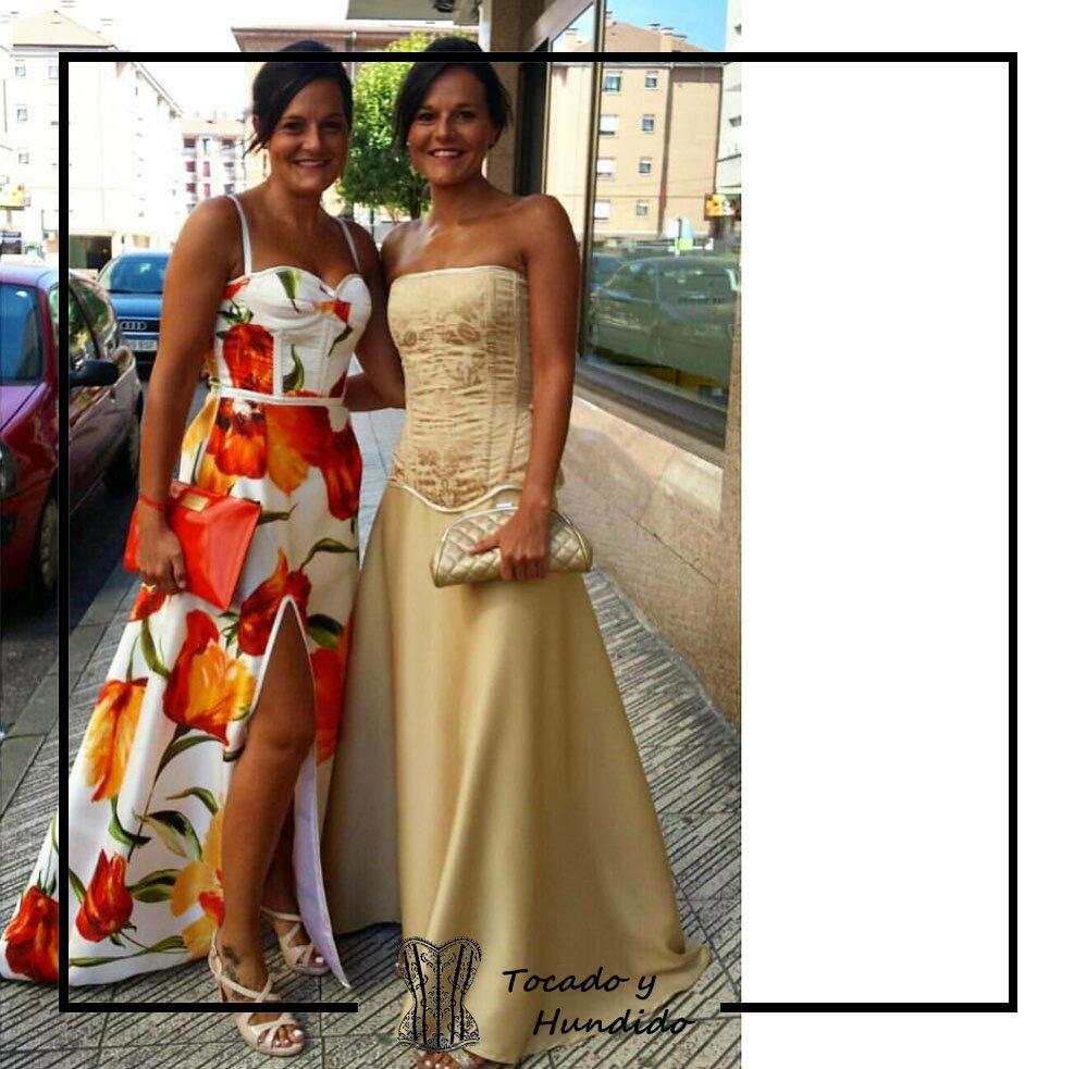 Conjunto-corset-y-falda-invitada-a-boda