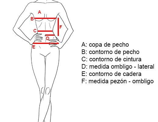 ¿Cómo tomarme medidas para pedir mi corset a medida?