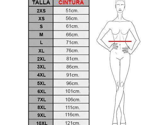 ¿Cómo elegir la talla de mi corset?