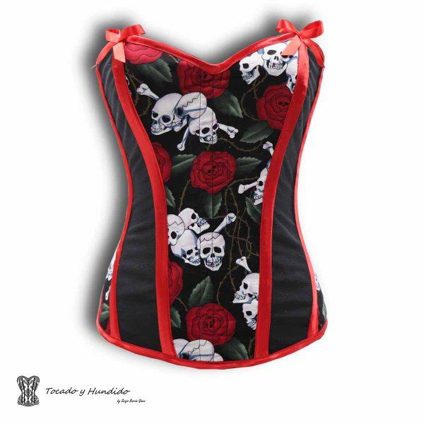 corsets madrid calaveras y rosas