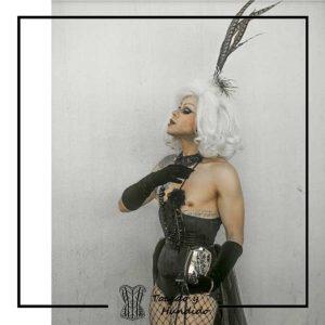 corset drag queen