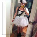 foto clienta corsets madrid corset disfraz Halloween