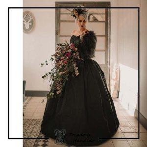 foto clienta corsets madrid corset epoca con falda cancan miriñaque