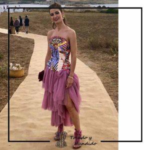 foto clienta corset fantasia y falda de tul corsets madrid